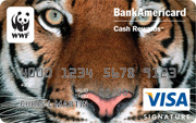 WWF Visa Signature® credit card